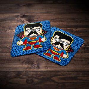 Superman Tea Coaster