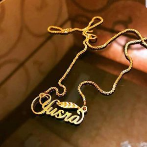 Name Necklace -D12