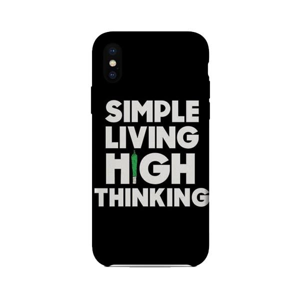 High Thinking - Mobile Cover