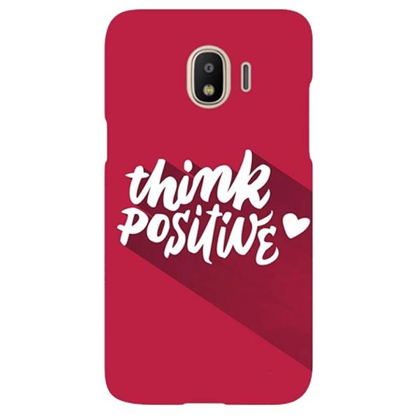 Think Positive Mobile Cover