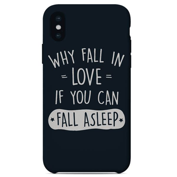 WHY FALL IN LOVE Mobile Cover