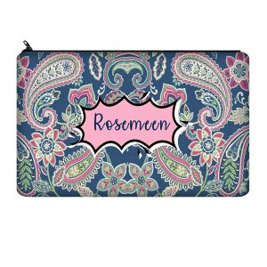 Zipper Pouch with Name