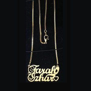 custom name necklace