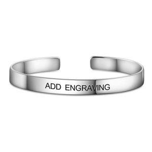 Engraved Bangle