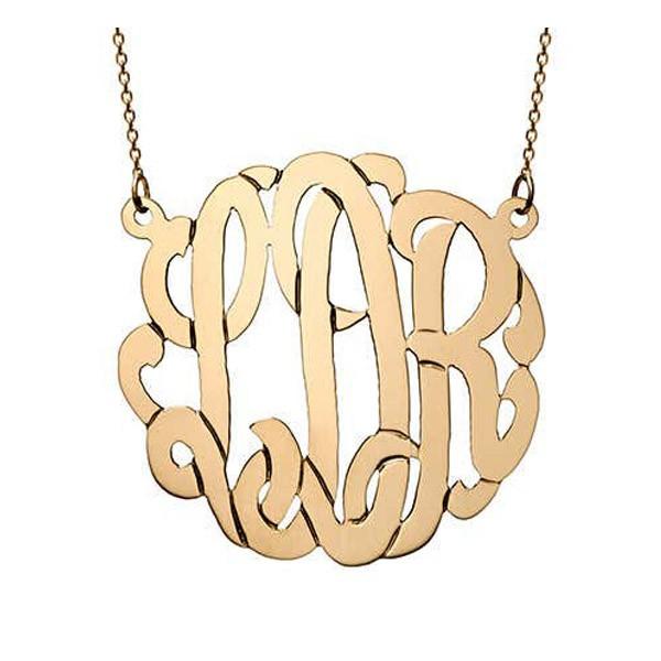 Monogram Necklace