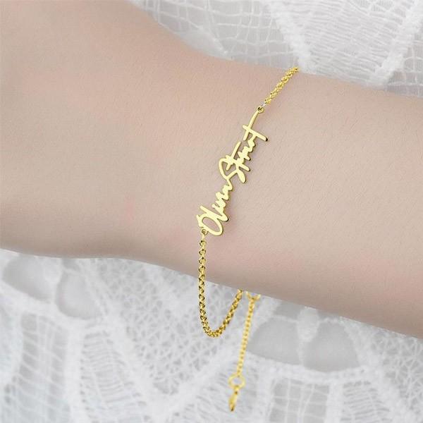Handwriting Name Bracelet