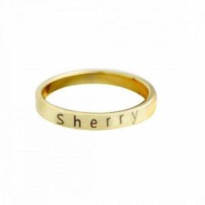 Customize Name Ring