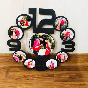 Customized Clock with Pictures