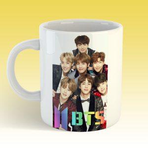 BTS Bangtan Boys Awesome Coffee Mug