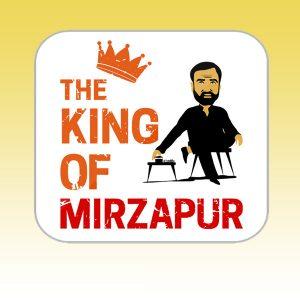 King of mirzapur Tea Coaster2