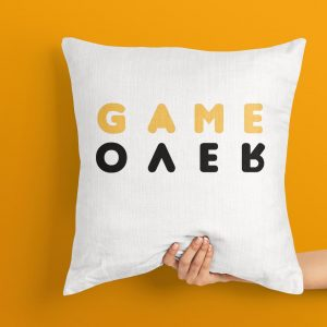 Game Over Cushion